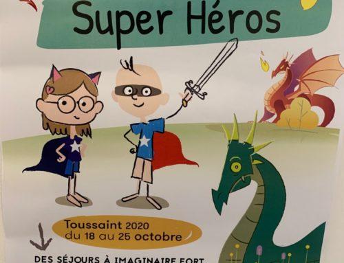 La colo des super héros